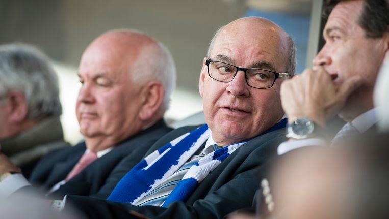 Burgemeester Termont en ook KAA-Gent voorzitter Ivan De Witte (links) worden volgende week maandag formeel verwacht. Beeld BELGA