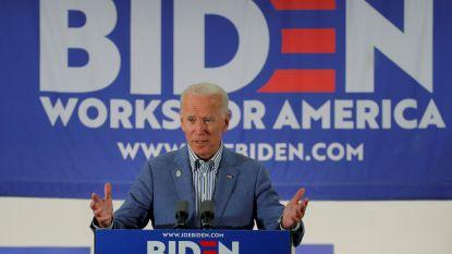 Minder enthousiasme voor topfavoriet Joe Biden dan voor andere Democratische presidentskandidaten