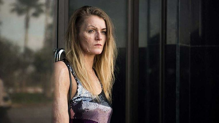 Vicky Knight  in 'Dirty God'. Beeld A Private View/EMU Films/Viking Film
