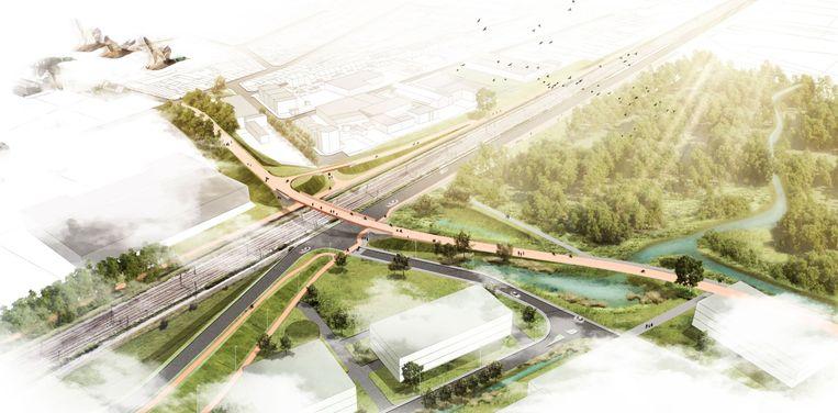 L052 Fietspad langs de lijn L52 (Boom-Antwerpen) Fietssnelweg F13 763?appId=2dc96dd3f167e919913d808324cbfeb2&quality=0