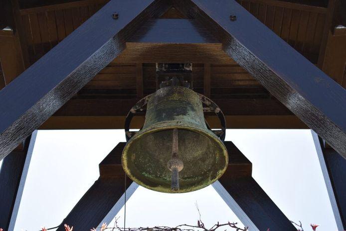De klok op de Eerebegraafplaats.