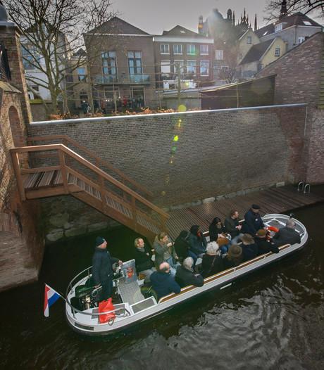 Ruim 204.000 mensen maakten in 2016 vaartochtje met 'Kring' in Den Bosch