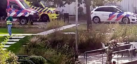 Brandweer en traumahelikopter uitgerukt voor persoon te water in Gorinchem