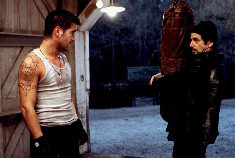 Colin Farrell en Al Pacino in The Recruit van Roger Donaldson. Beeld