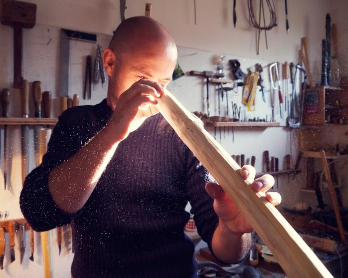 Fluitist Winne Clement en zijn fujara