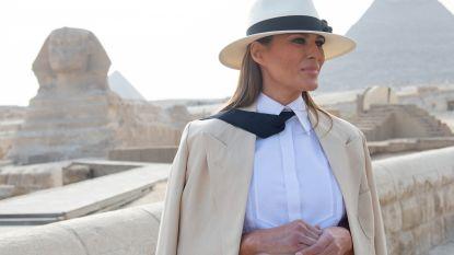 Melania Trumps hotelrekening in Caïro bedraagt ruim 83.000 euro voor één dag (zonder er de nacht door te brengen)