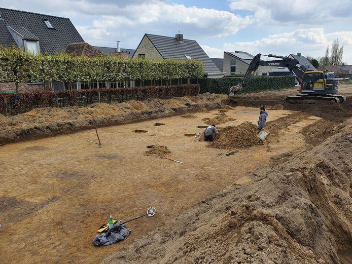 In Handzame, deelgemeente van Kortemark, zijn restanten gevonden die 1800 jaar oud zijn