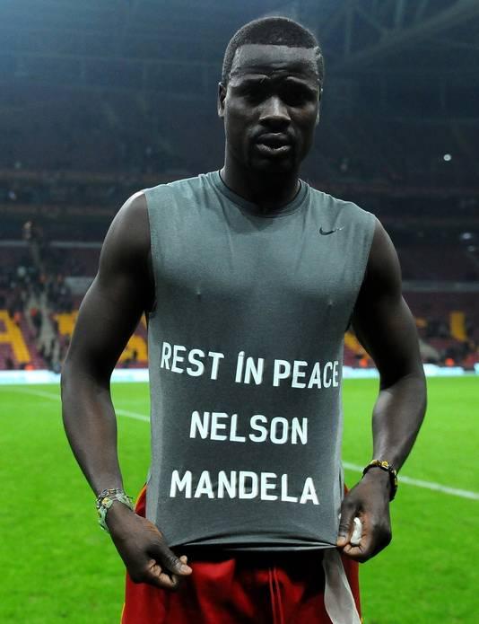 Ook Emmanuel Eboue komt uit Ivoorkust.