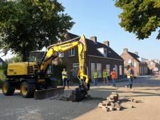 Tien maanden werk aan Terheijdense Markstraat voor riolering en warmtenet