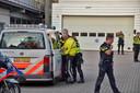 Het wemelde van de politieagenten bij de spoedeisende hulp