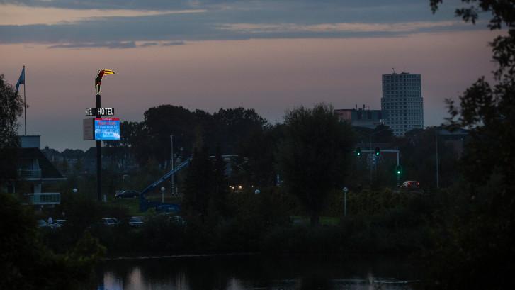 Een lichtzuil zoals bij Van der Valk, dat wil de gemeente Den Bosch niet meer