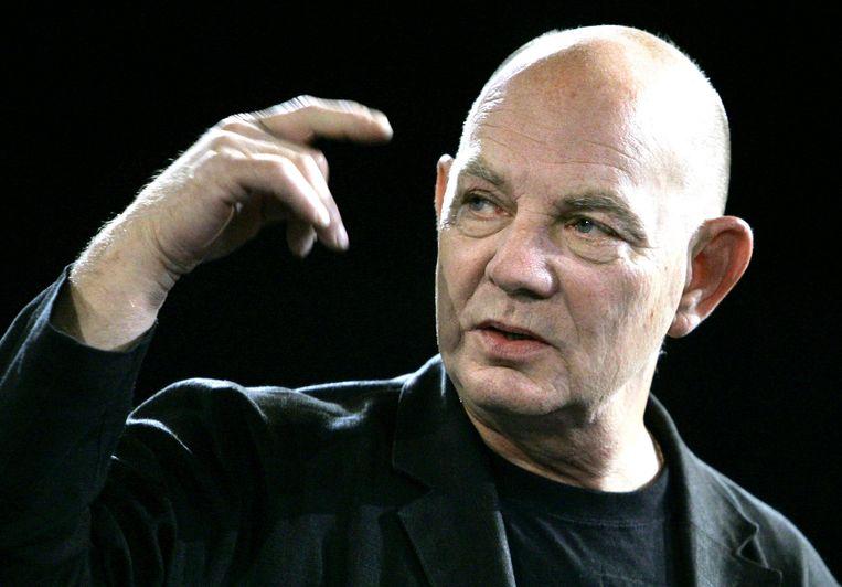 De Zweedse toneelschrijver Lars Norén overleed dinsdag aan de gevolgen van Covid-19. Hij werd 76 jaar. Beeld AFP