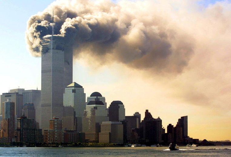 De aanslagen van 9/11. Beeld