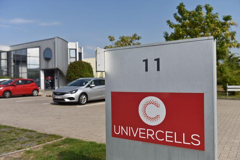 De labosite van Univercells in Nijvel. Beeld BELGA