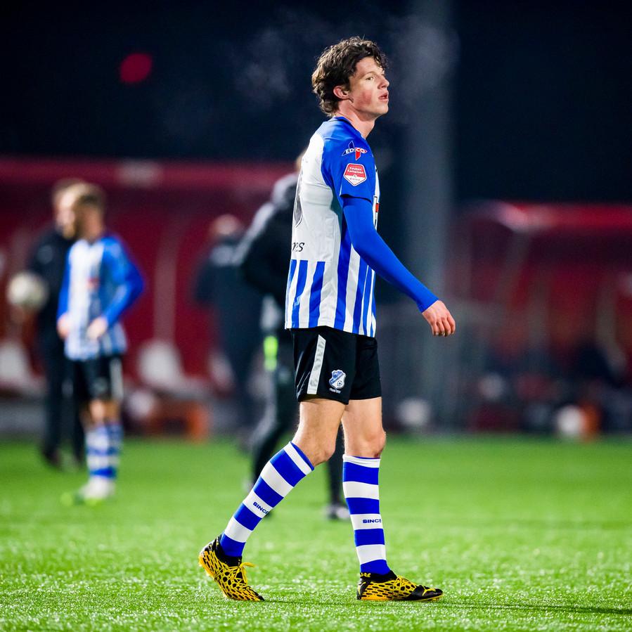 David Janssen na zijn debuut voor FC Eindhoven.