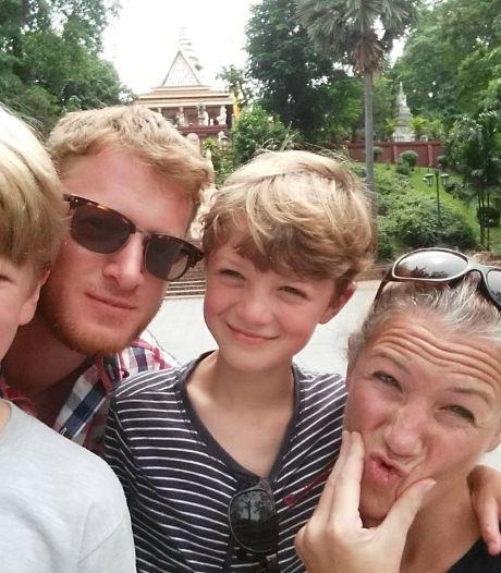 Met drie andere gezinnen huurt Tessa (43) om het jaar een Frans huis: 'Prachtig chateau met zwembad'