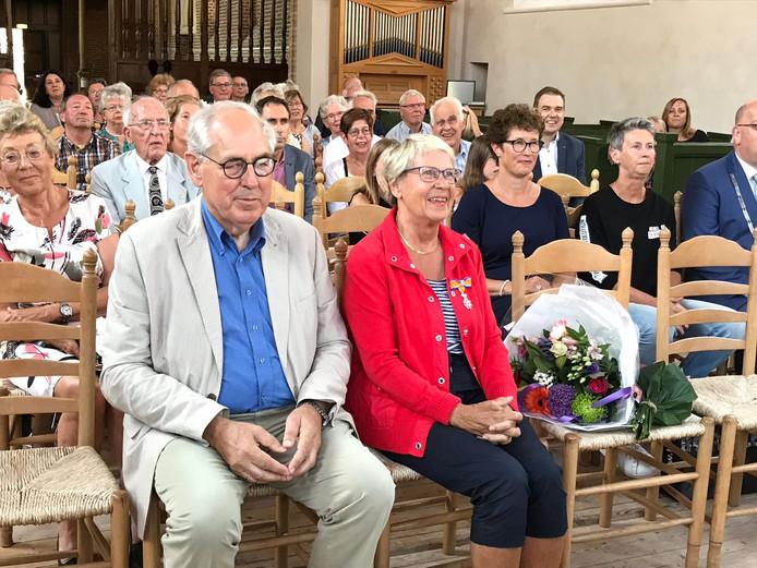 Miep Spruit-de Muijnk uit Nisse kreeg vandaag een koninklijke onderscheiding.