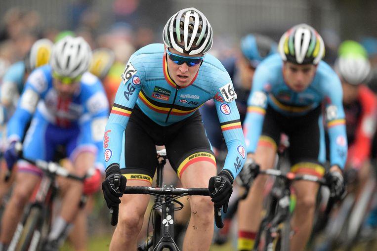 Tim Merlier was de sprintloods van Van Aert in ronde één Beeld BELGA