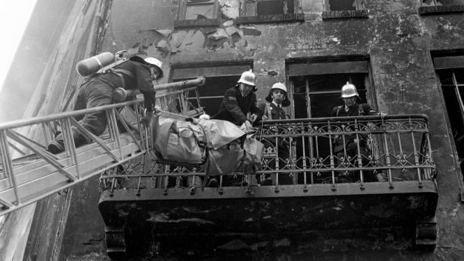 In alle vroegte brak de hel los in het Eindhovense hotel Tsilveren Seepaerd, een halve eeuw geleden