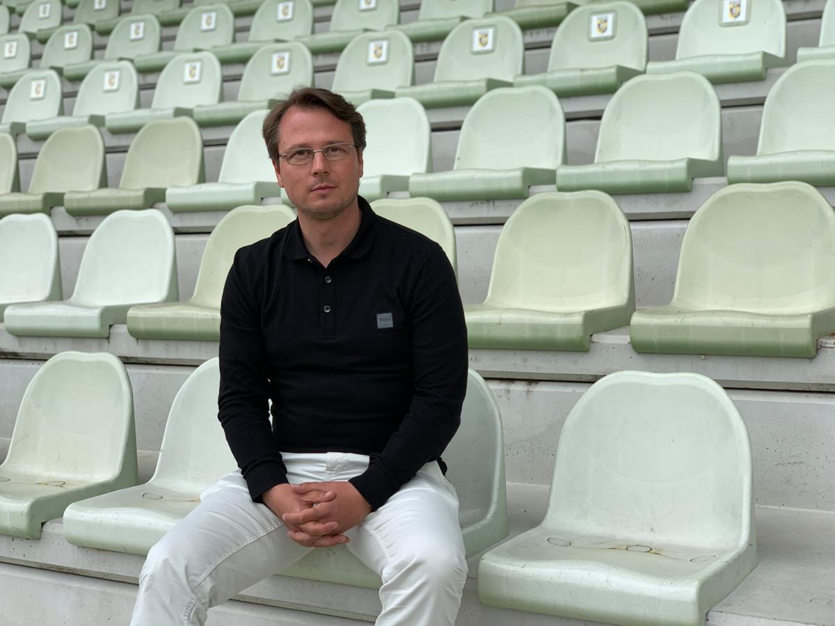 Johannes Spors, de technisch directeur van Vitesse