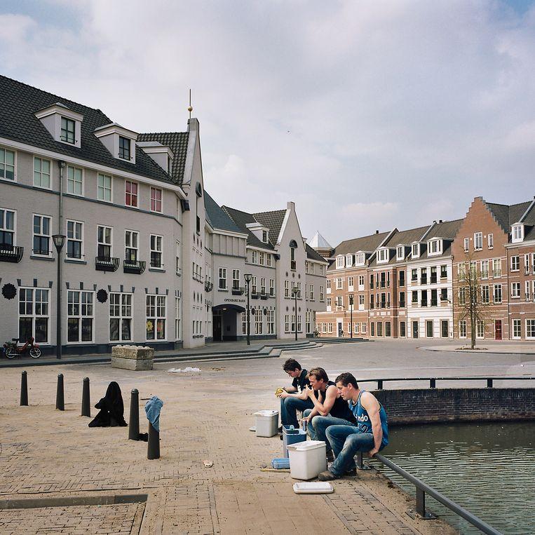 De Helmondse nieuwbouwwijk Brandevoort is ontworpen met een nostalgische inslag, en nadruk op het individu. Beeld Werry Crone