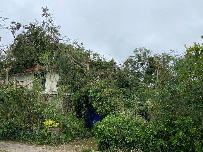 Een deel van de woningen in Leersum is compleet onbewoonbaar