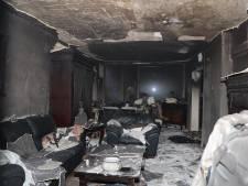 Woning in Den Bosch verwoest door keukenbrand, bewoner gewond bij bluspoging
