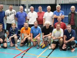 Jubileummatch voor 25 jaar volleybal bij Gezinsbond Lede