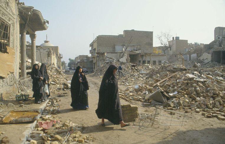Bagdad, 1991.  Beeld Getty Images