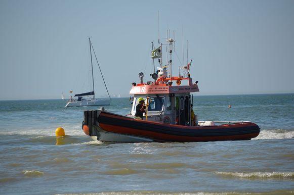 Ook de Brandaris van Ship Support hielp mee zoeken.