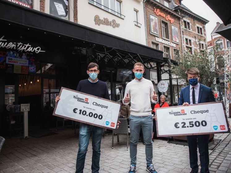 """Koffiebar 'Twenty Two' wint 12.500 euro via HLN-actie 'Tournée Générale': """"Meteen voor nieuwe koffieapparaten!"""""""