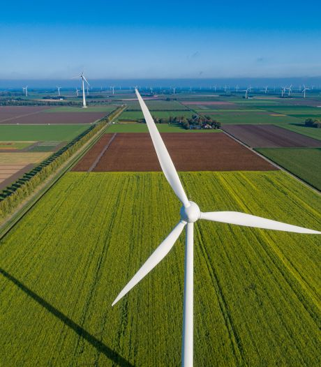 Oss ligt ver achter met besparen energie, windmolens hard nodig