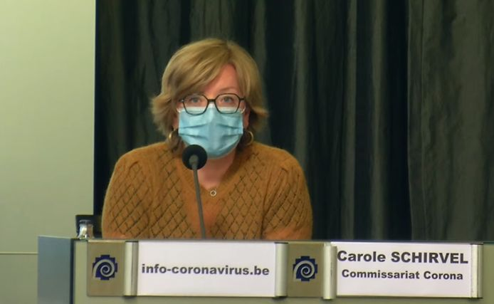 La commissaire corona Carole Schirvel.