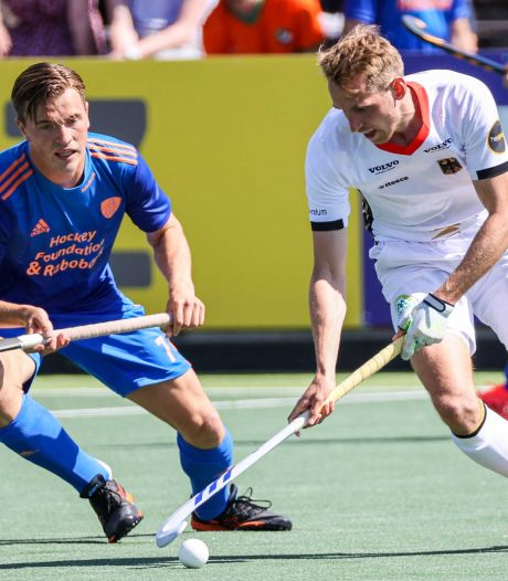 Oranje-hockeyers krijgen op EK in knotsgekke slotfase dreun van Duitsland