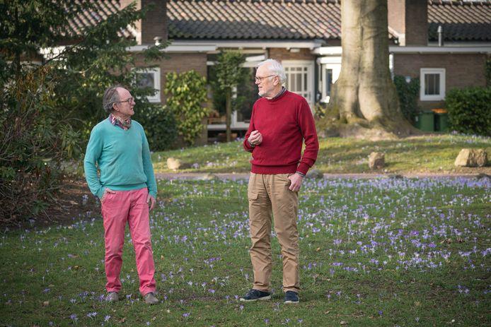 Pieter Vermeulen en Gerrit Jurg.