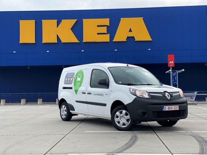 IKEA gaat in zee met GreenMobility.