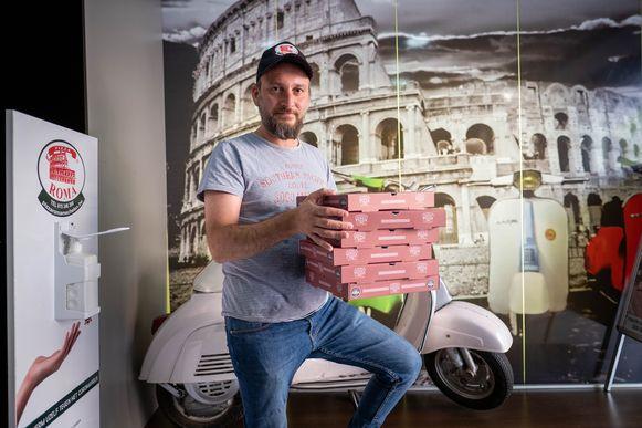 Muhammed Tunc van Pizza Roma Mechelen