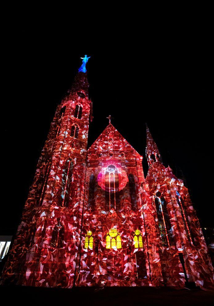 Glow zorgde weer voor spektakel in de binnenstad.