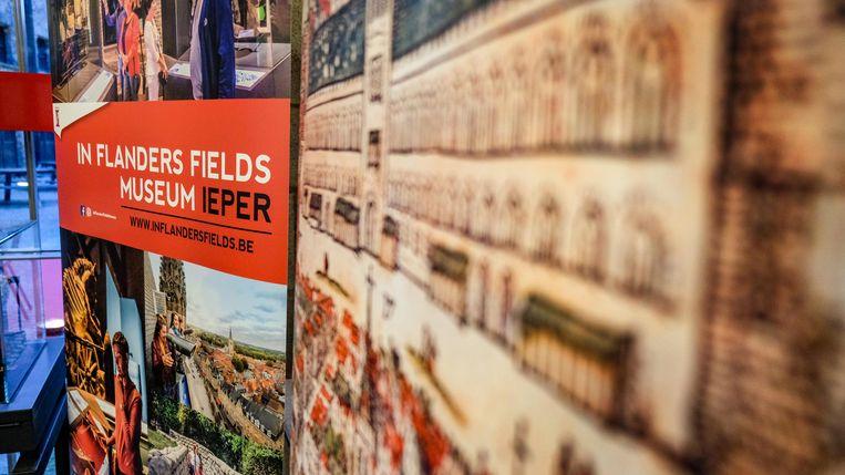 Ieper zet ook meer in op het In Flanders Fields Museum, met een nieuwe permanente tentoonstelling.