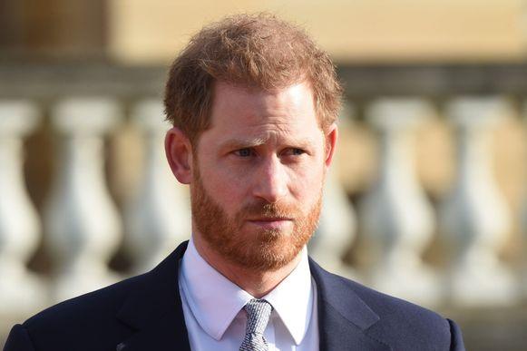 De Britse prins Harry.