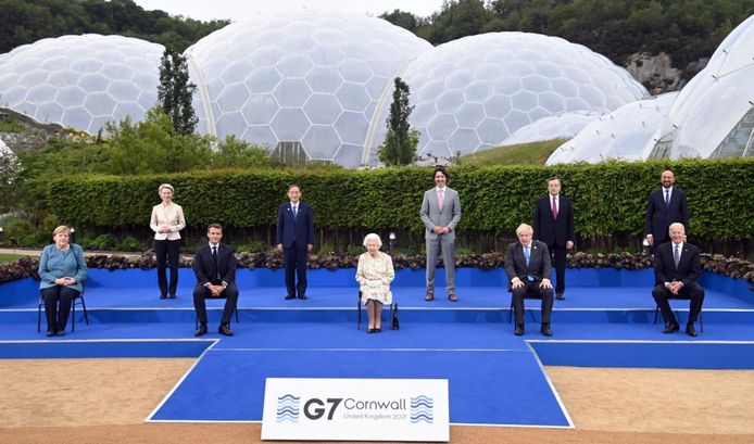 La photo officielle avec la Reine.