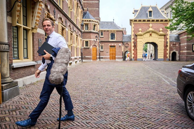 Demissionair minister Hugo de Jonge van Volksgezondheid, Welzijn en Sport (CDA). Beeld ANP