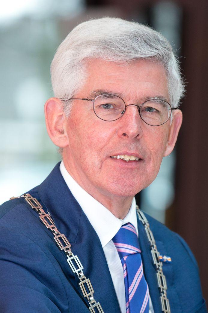 Afscheid van burgemeester Jan Pommer.