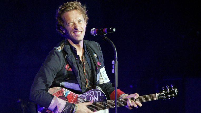 Coldplay was de populairste band van 2014 volgens de gebruikers van Spotify. Beeld EPA