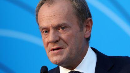 """Tusk: """"Acties van Turkije in Syrië kunnen tot humanitaire catastrofe leiden"""""""