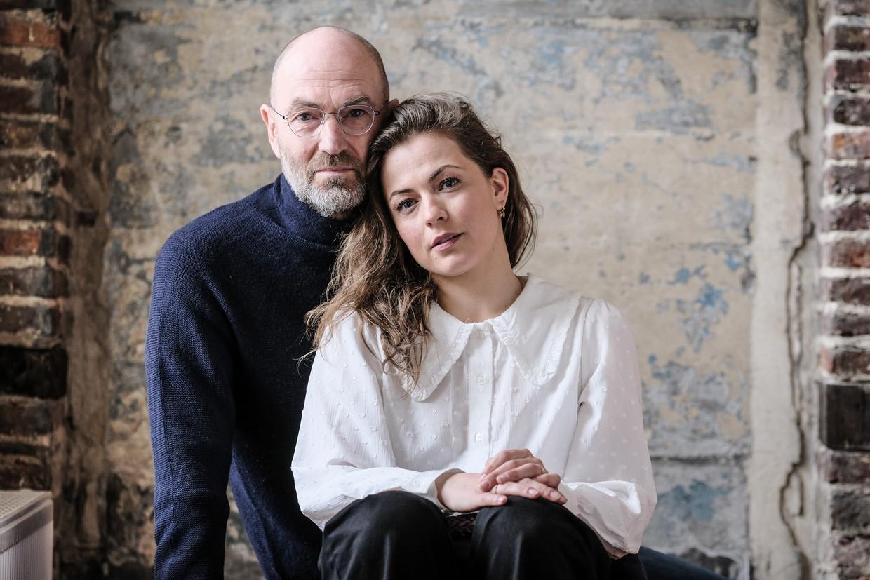Patrick en Frances Lefebure, vader en dochter. Beeld Bob Van Mol
