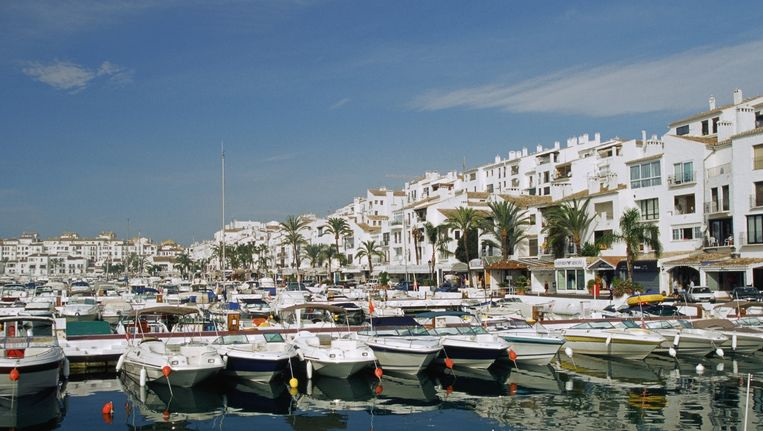 Puerto Banus in Marbella, Spanje. Beeld thinkstock