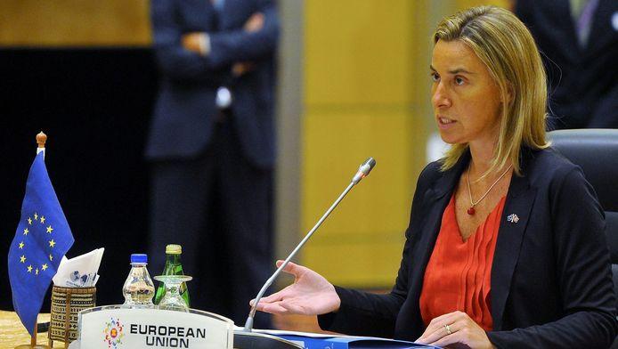 Federica Mogherini, cheffe de la diplomatie européenne.