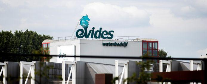 Het hoofdkantoor van drinkwaterbedrijf Evides, dat water levert aan huishoudens en bedrijven in Zeeland, delen van Zuid-Holland en Brabant.