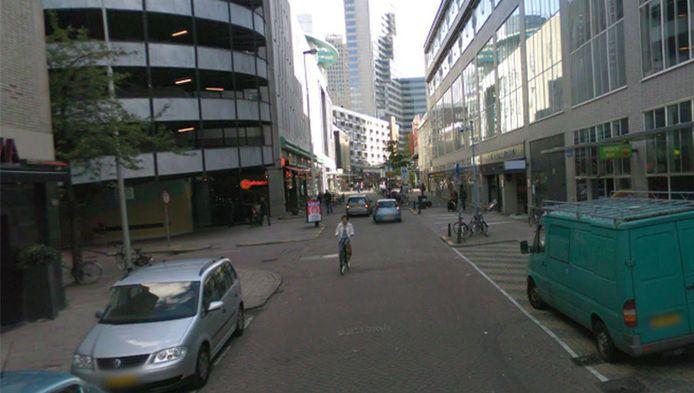 De Rodezand in Rotterdam.